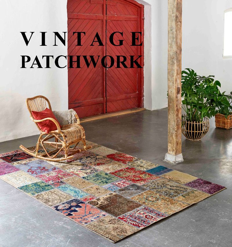 Decoratie Vintage patchwork