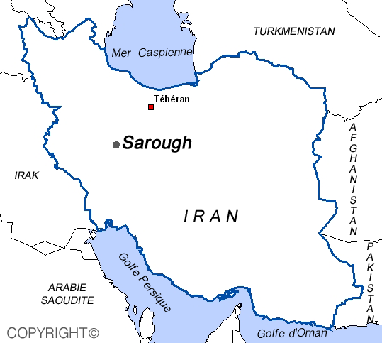 Carte sarough