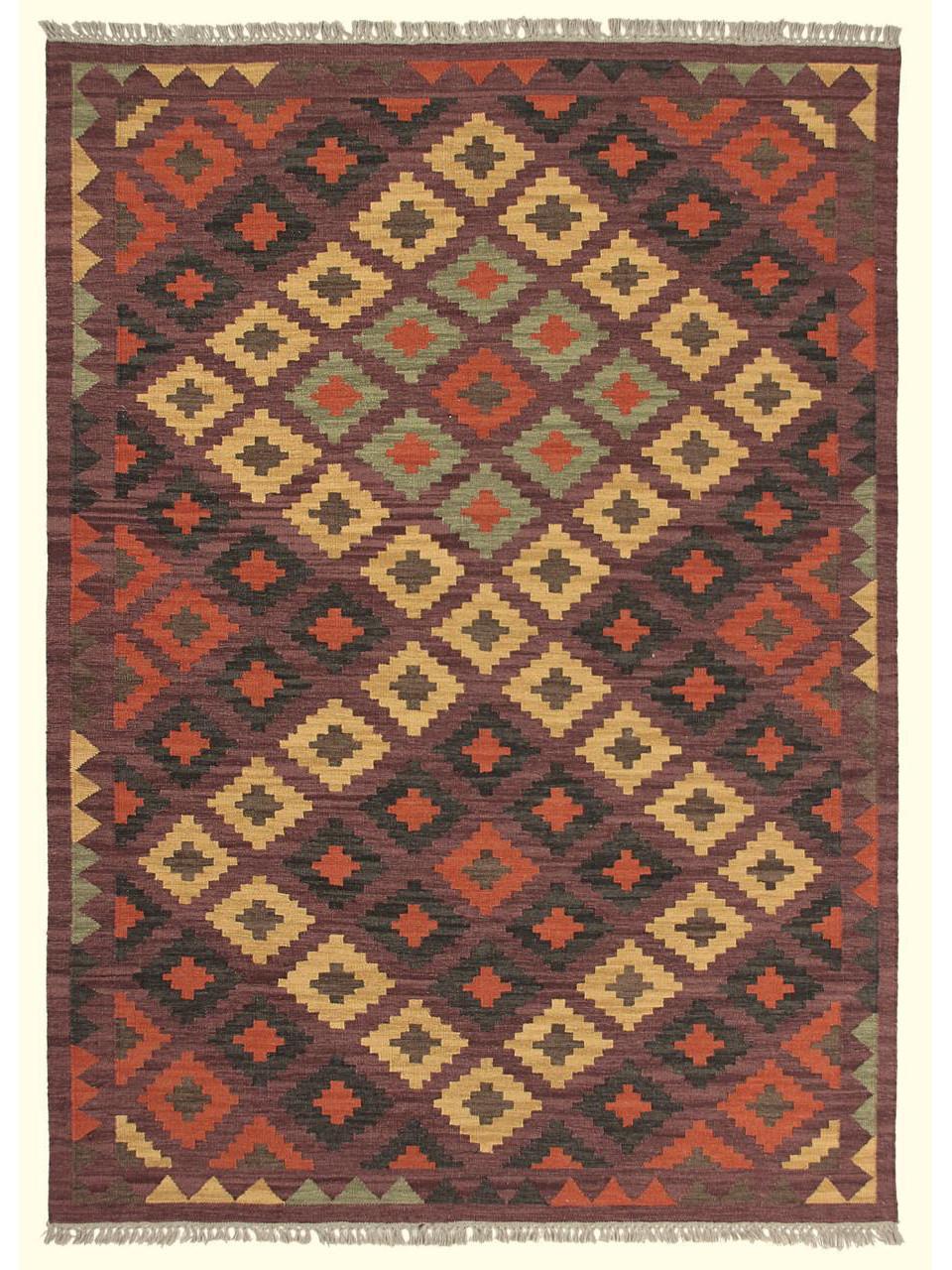 sumak kilim 210 kilims traditionnels n 305 160x90cm. Black Bedroom Furniture Sets. Home Design Ideas
