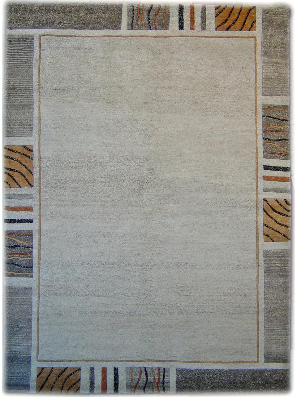 Nature Line 581 Beige Carpets With Borders N 879 241x173cm