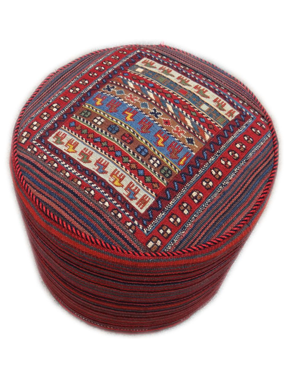 pouf kilim persian puffs n 1599 45x45cm. Black Bedroom Furniture Sets. Home Design Ideas