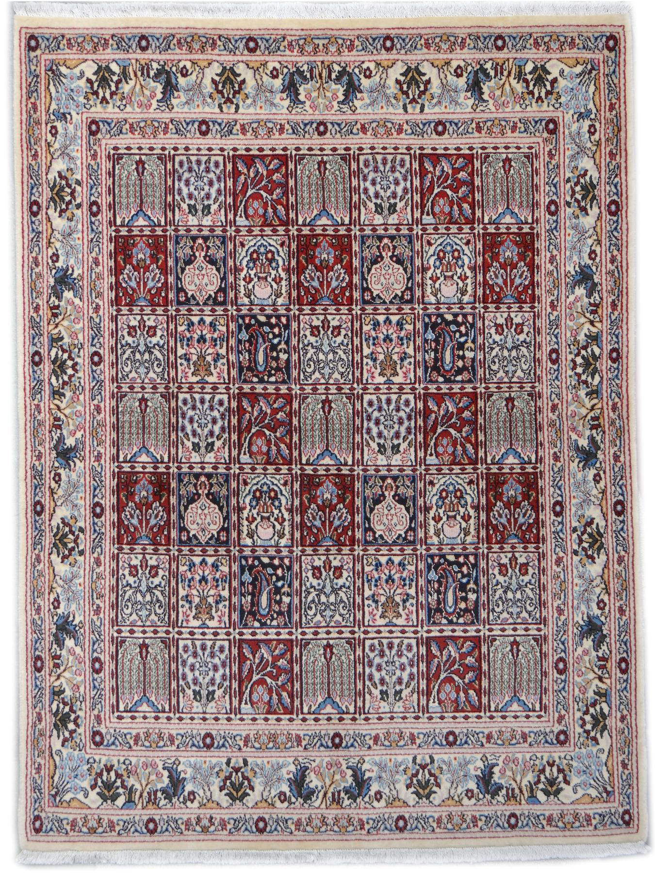 Moud Garden Persian Carpets N 2384 199x150cm
