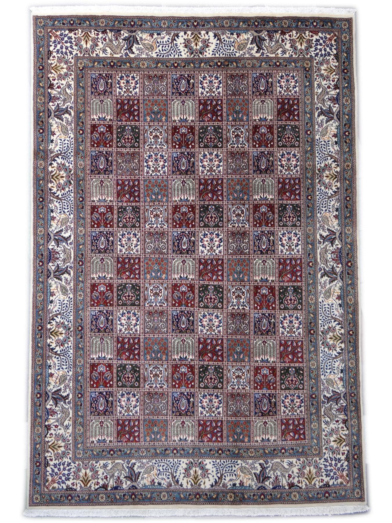 moud jardin tapis persans n 2572 298x200cm. Black Bedroom Furniture Sets. Home Design Ideas