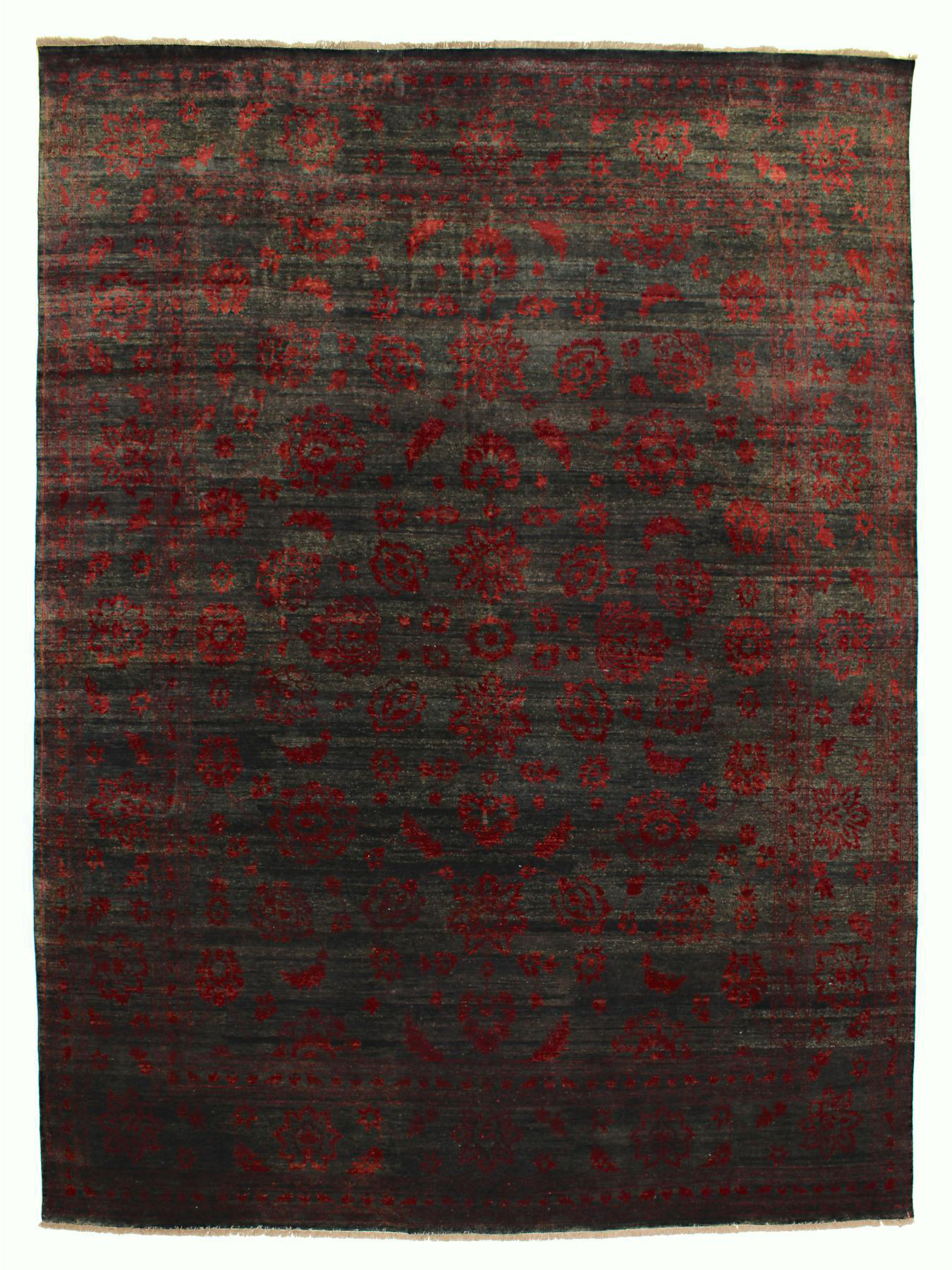 Luxury carpets - Damask-Loribaft empty Outlet
