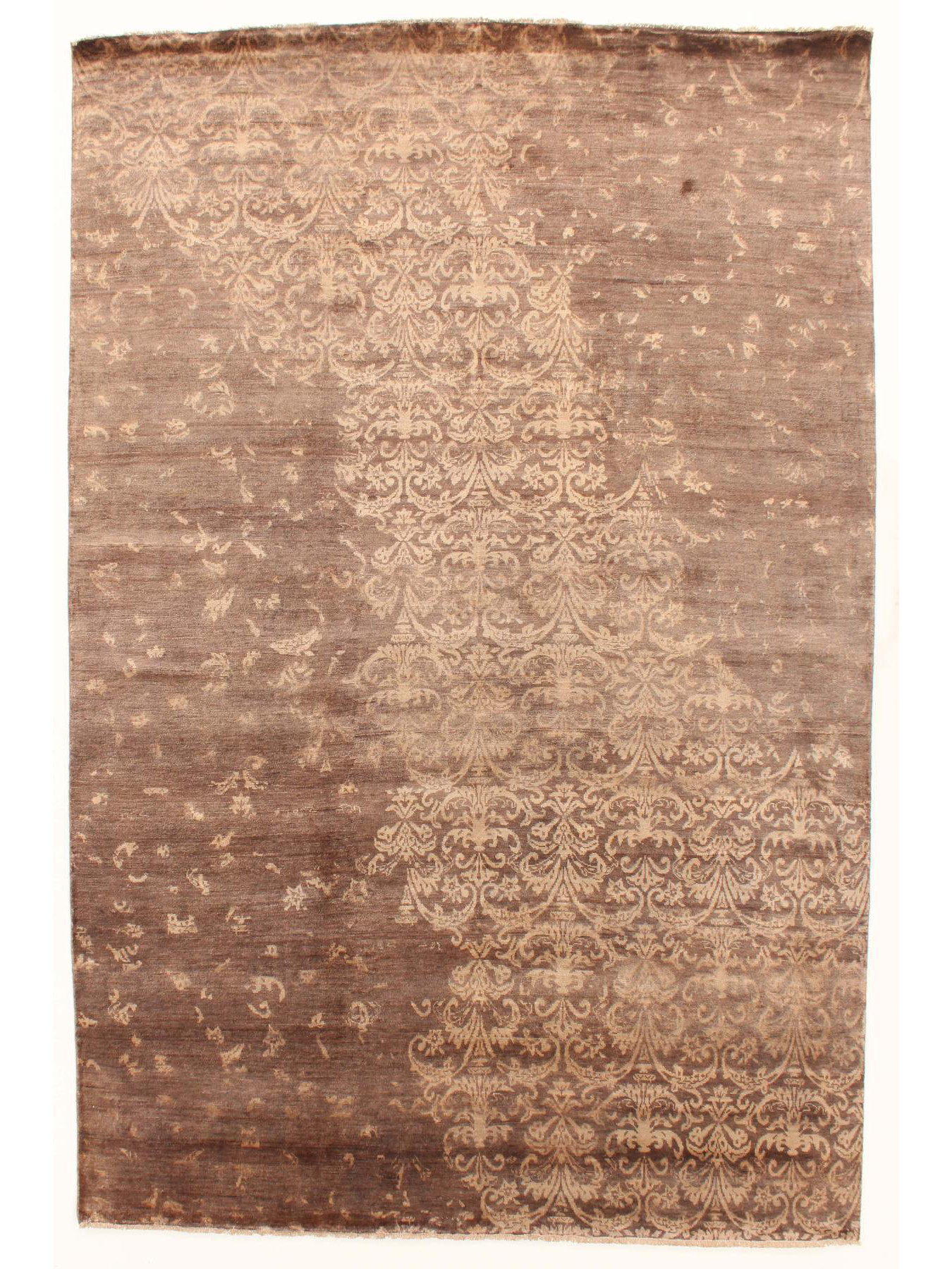 Luxury carpets - Damask-AL-2E B-7/B-34/Gold Outlet