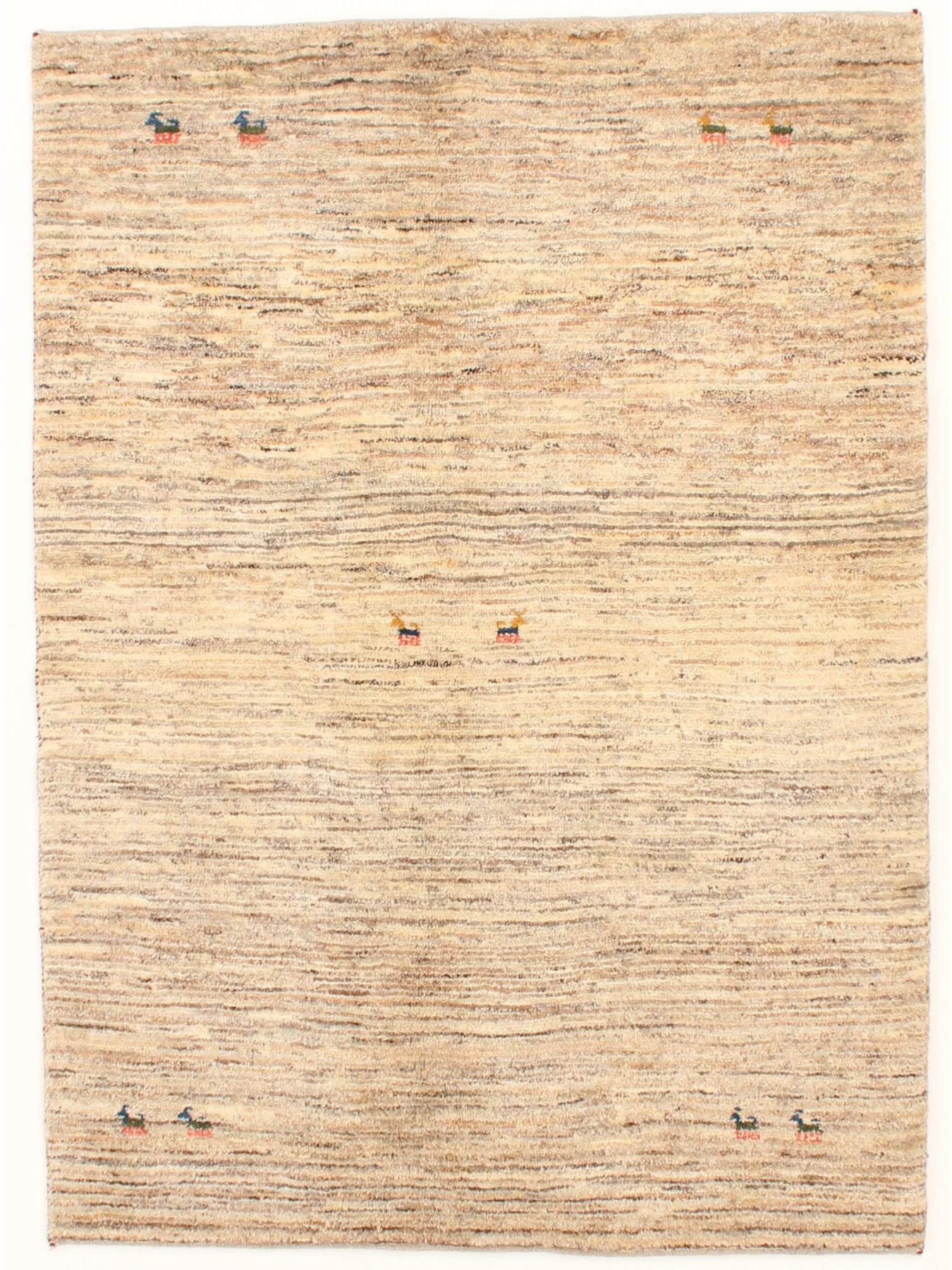 Gabbeh natural etnische tapijten n 25669 200x147cm - Etnische pouf ...