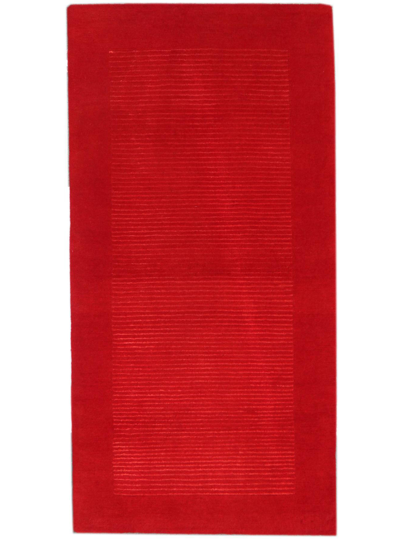 Carpets with borders - BAGUETTES RED