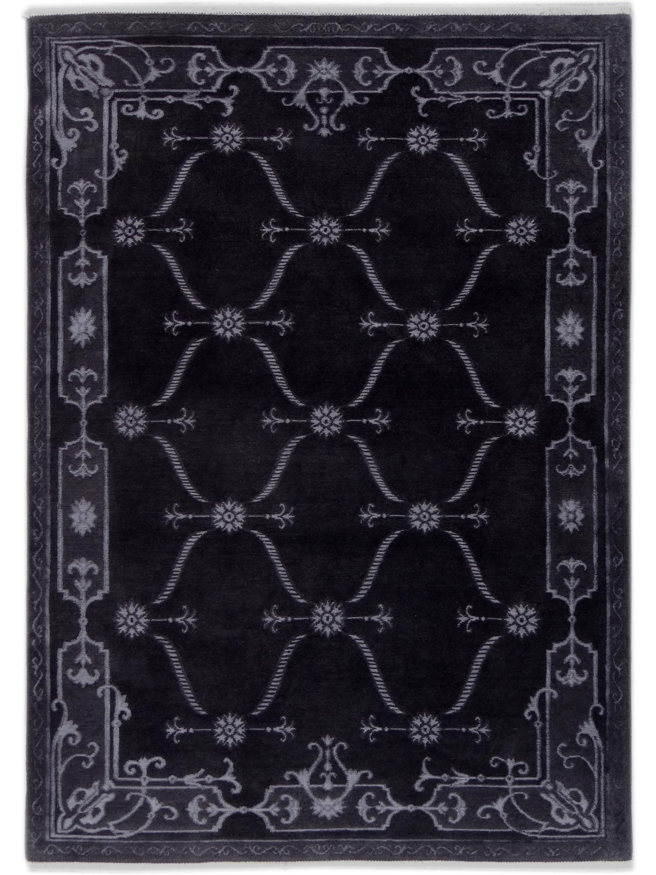 Luxury carpets - CARTOUCHES - S2522 GREY