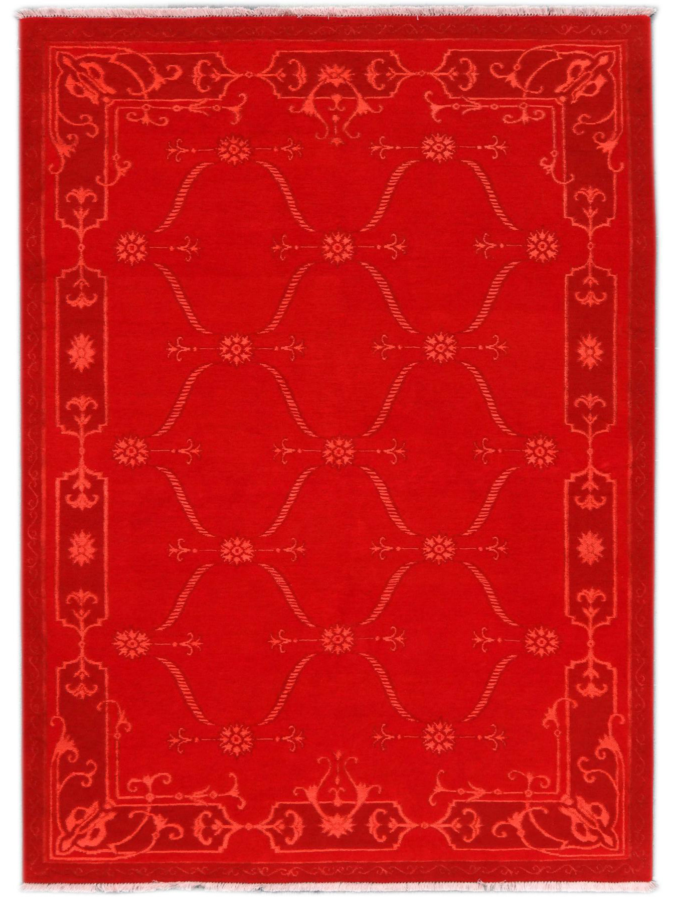 Luxury tapijten - CARTOUCHES - S2522 RED