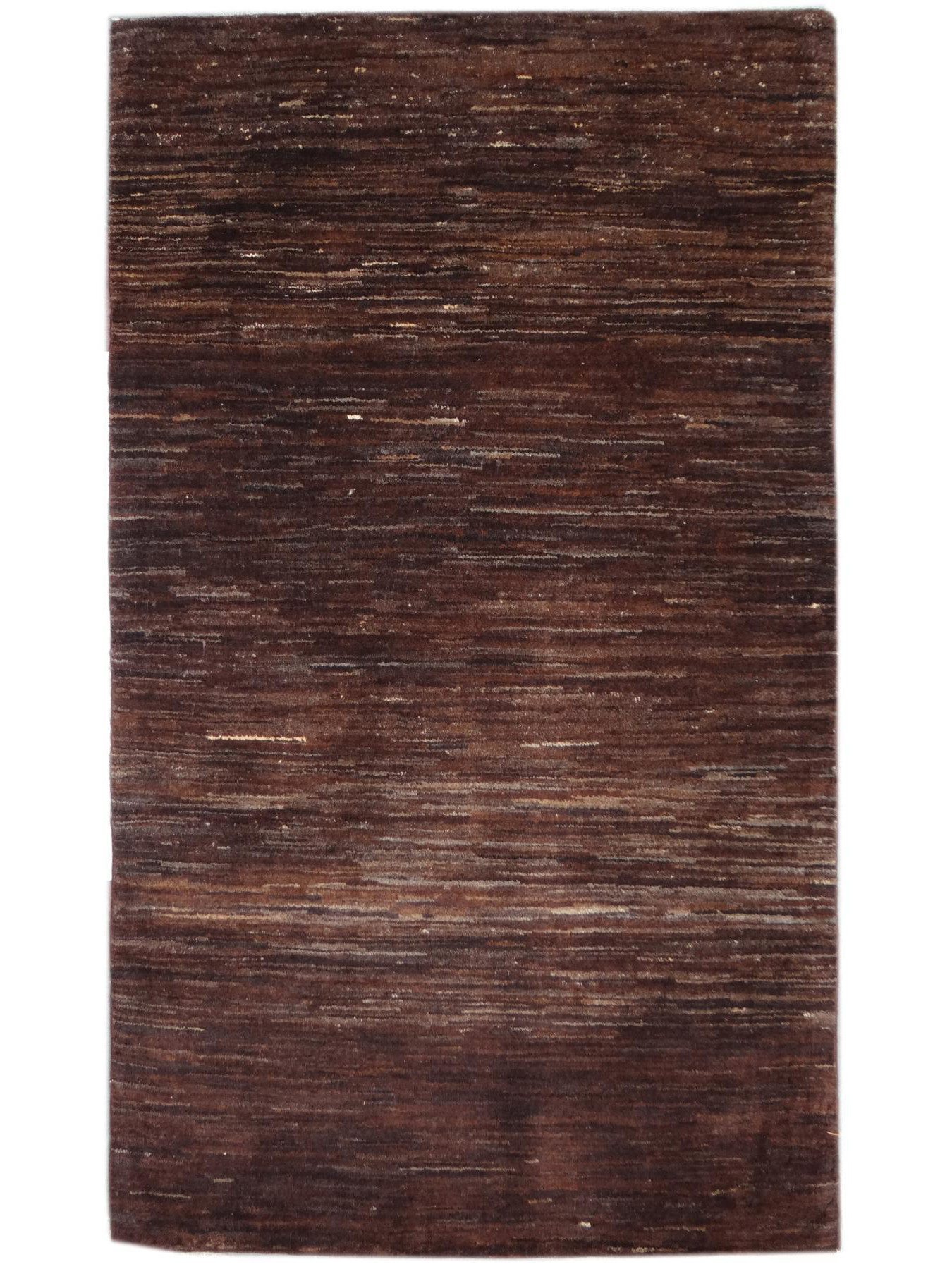 Ethnic carpets - TIMUR-EMOTION ABRASH DARK BROWN