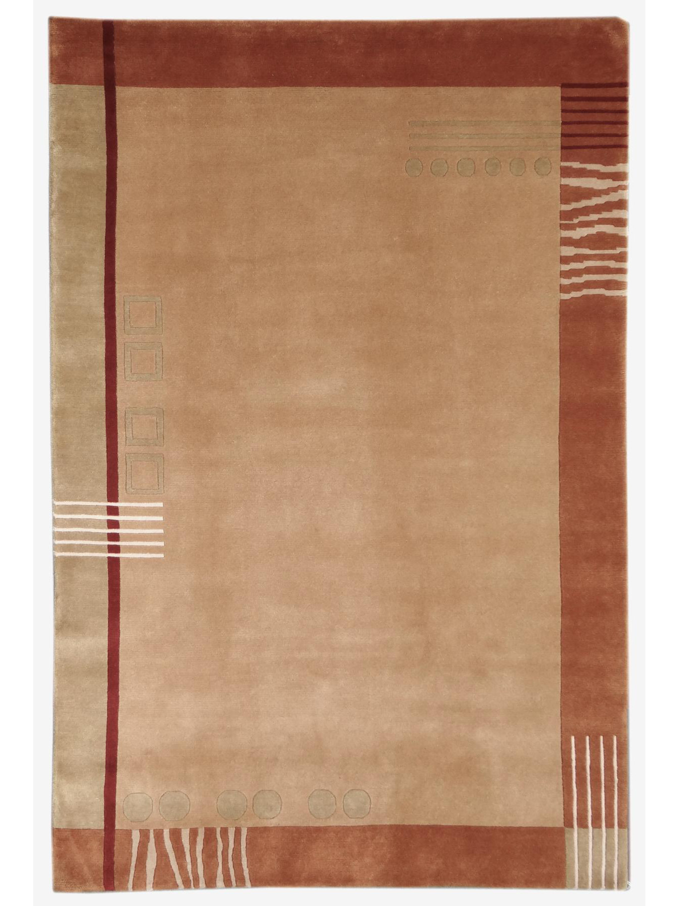 Carpets with borders - TERRA 1 - 2251