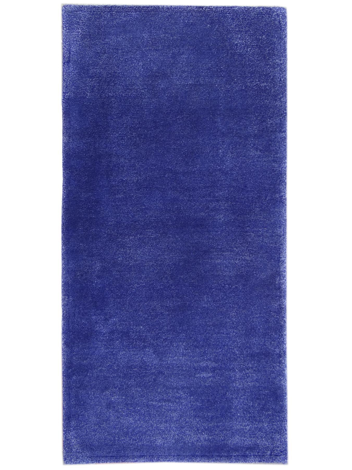 Unicoloured carpets - ARGENTE BLUE