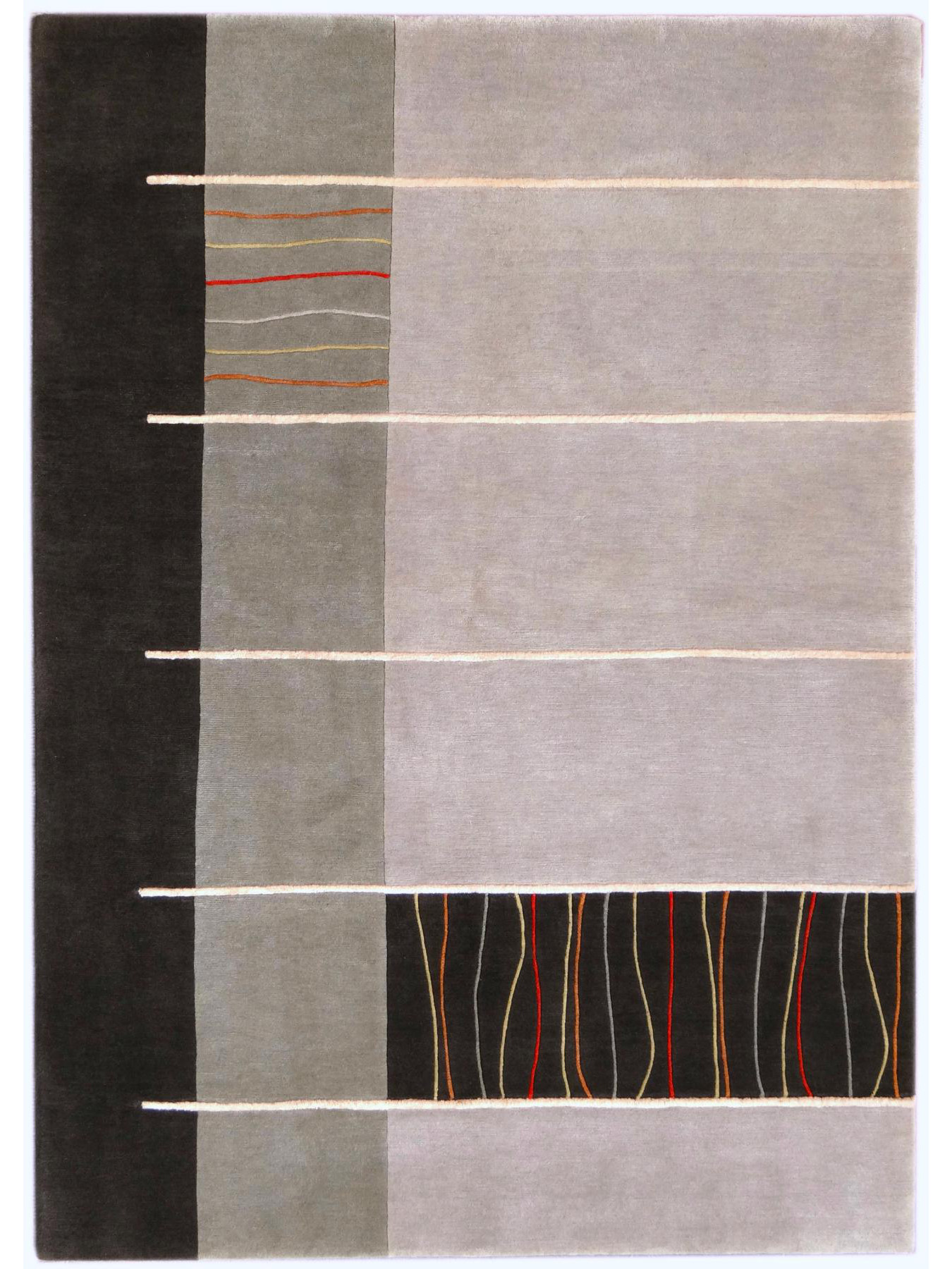 Design carpets - ABSTRACTO 451 - 9001 NOBILE