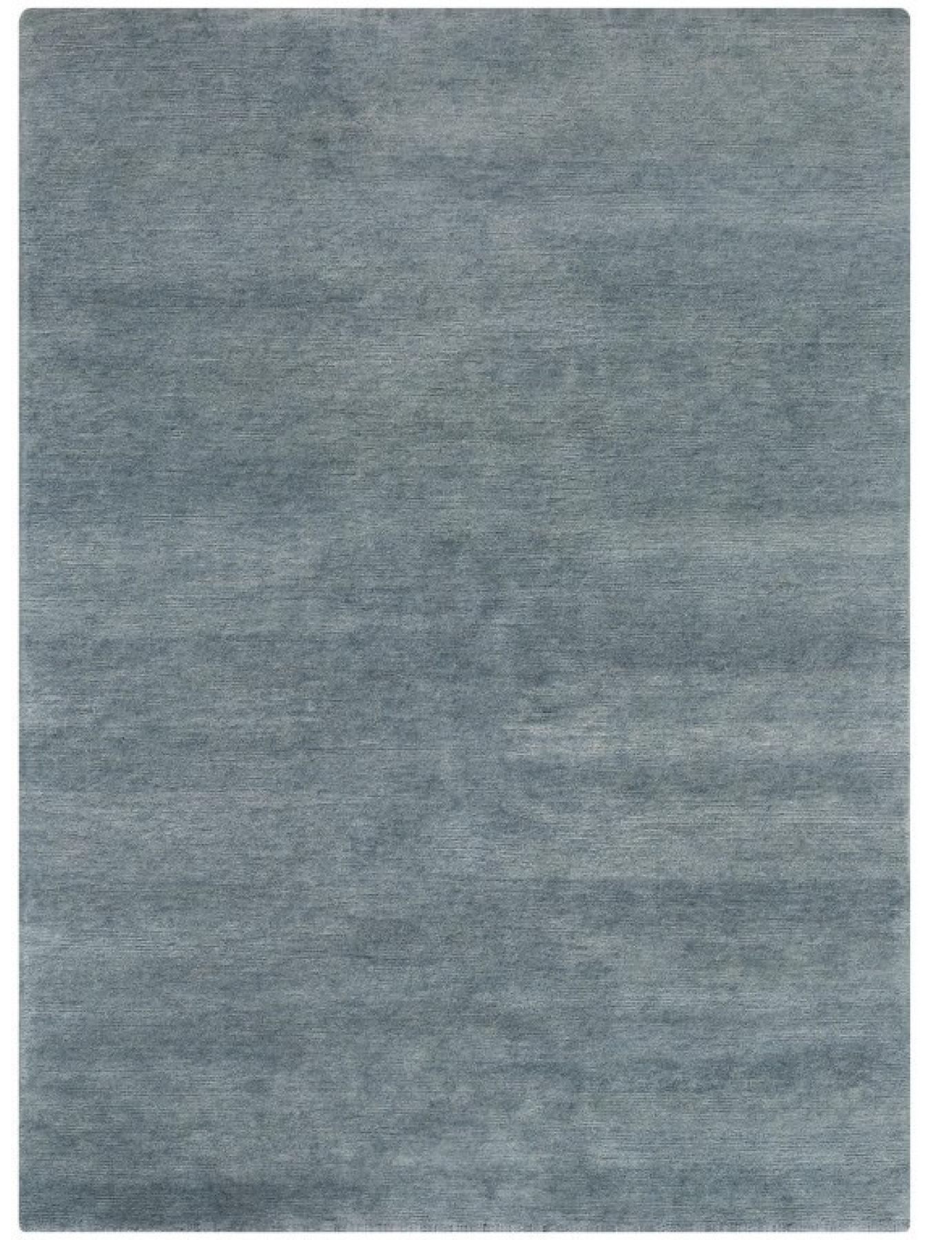 Eenkleurige tapijten - Look.418-001 blauw denim