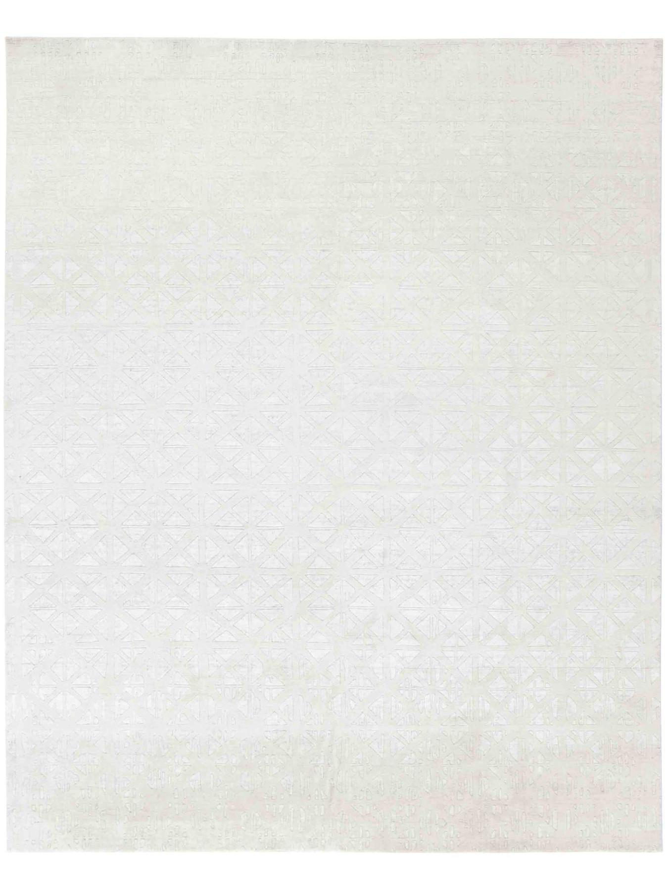 Tapis design - Shangri-La White Mosaic