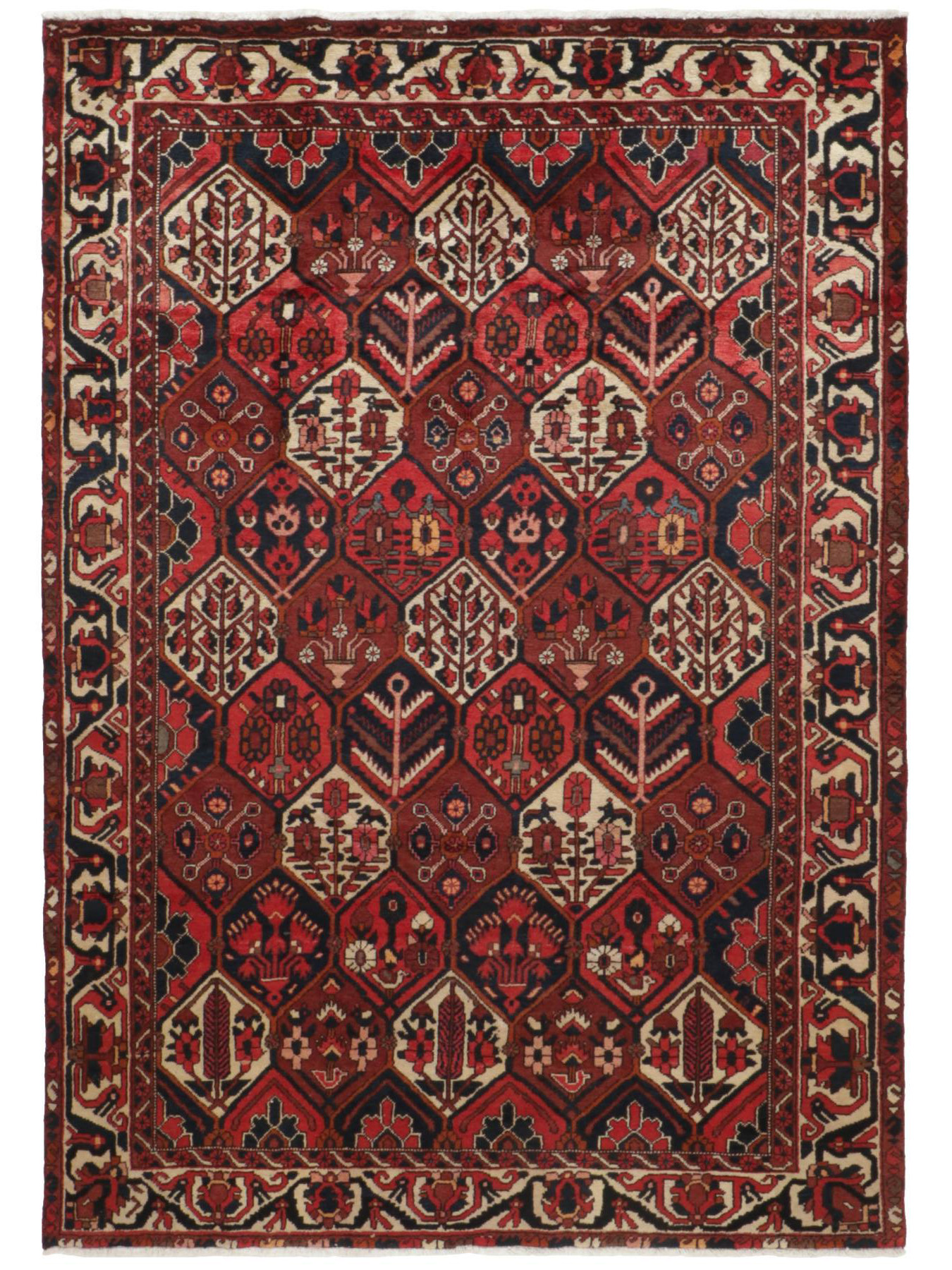 bakhtiar tapis persans n 37482 285x213cm. Black Bedroom Furniture Sets. Home Design Ideas