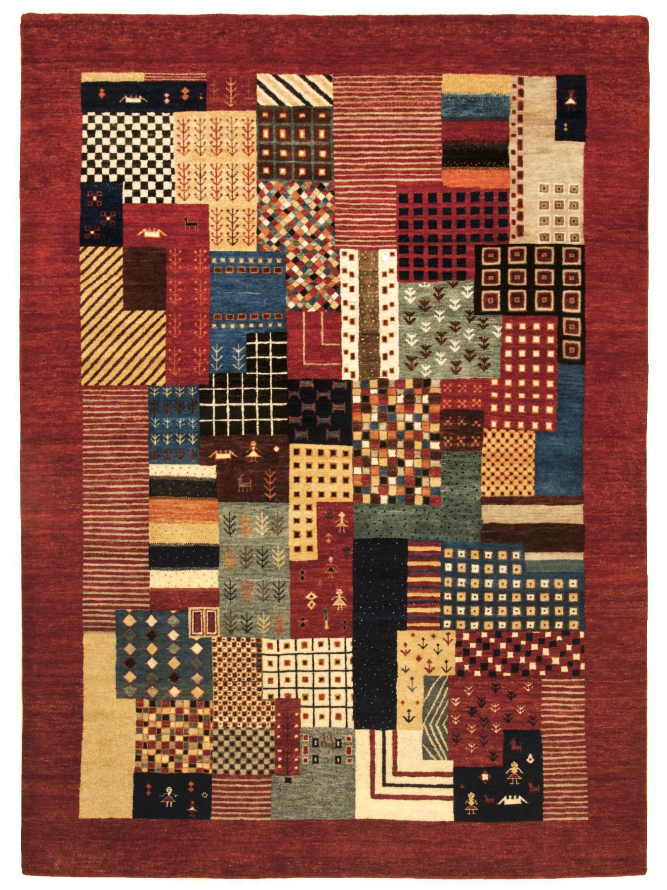 Ethnic carpets - Hindustan-Hali-1425 red multi