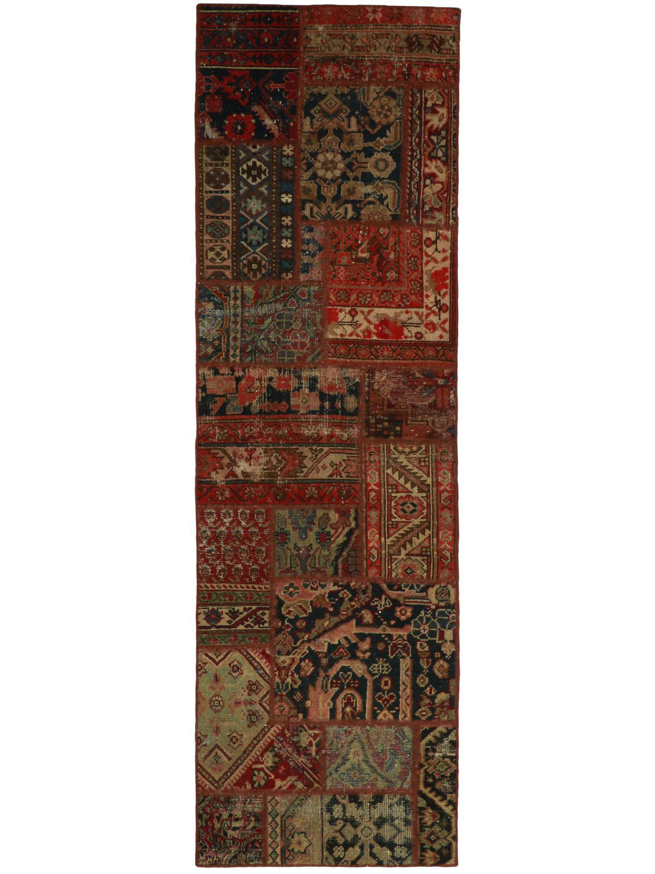 Vintage Patchwork - Vintage Persian Royal Patchwork Malayer
