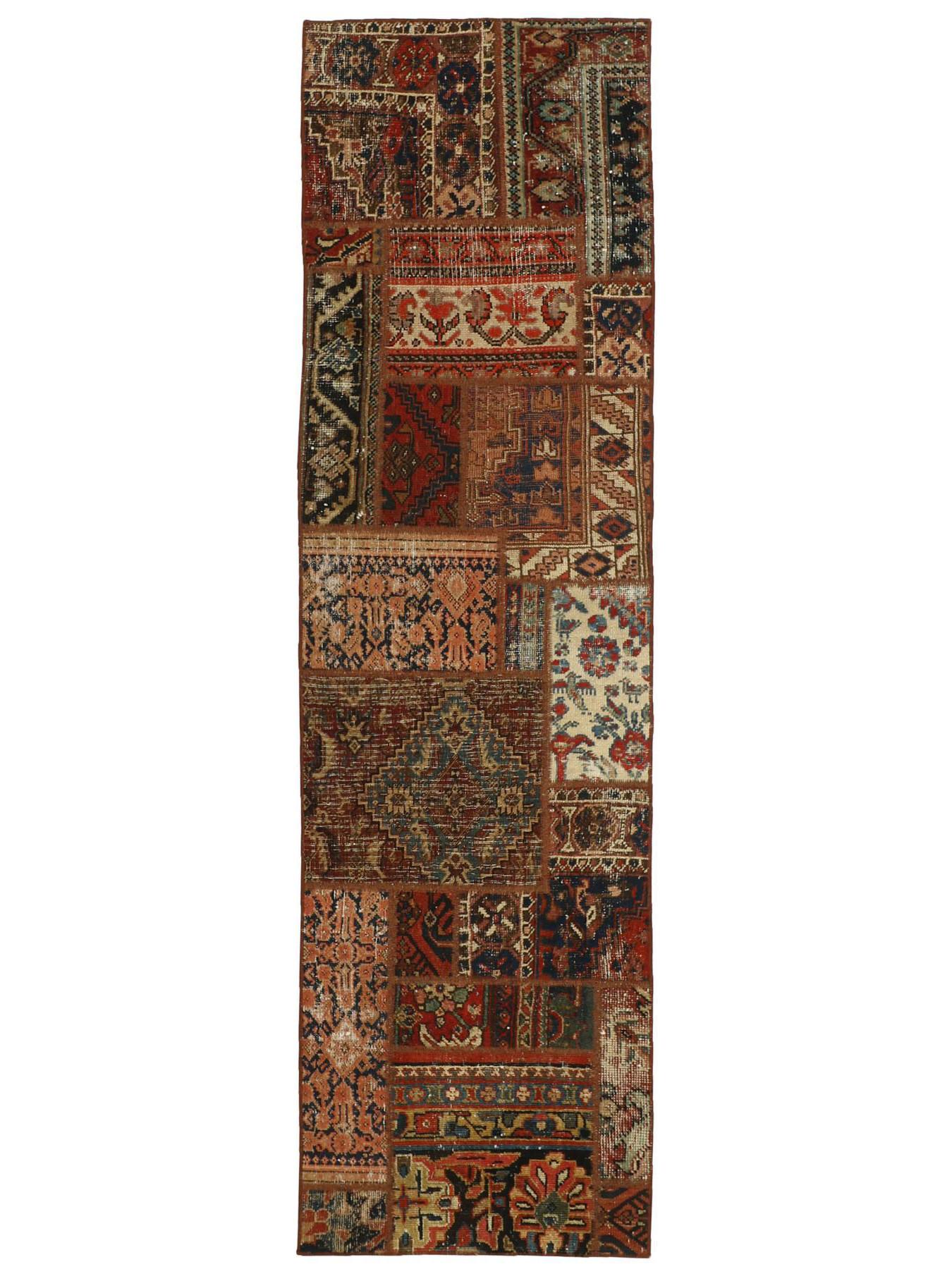Perzische tapijten - Vintage Persian Royal Patchwork Malayer