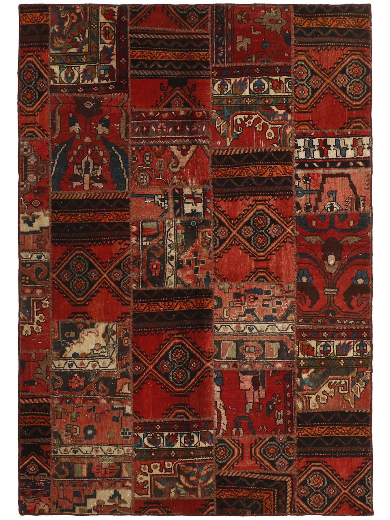 Persian carpets - Vintage Persian Royal Patchwork Malayer