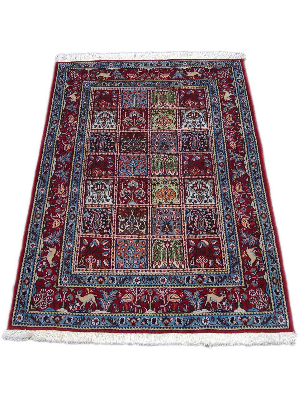moud jardin tapis persans n 361 150x103cm. Black Bedroom Furniture Sets. Home Design Ideas