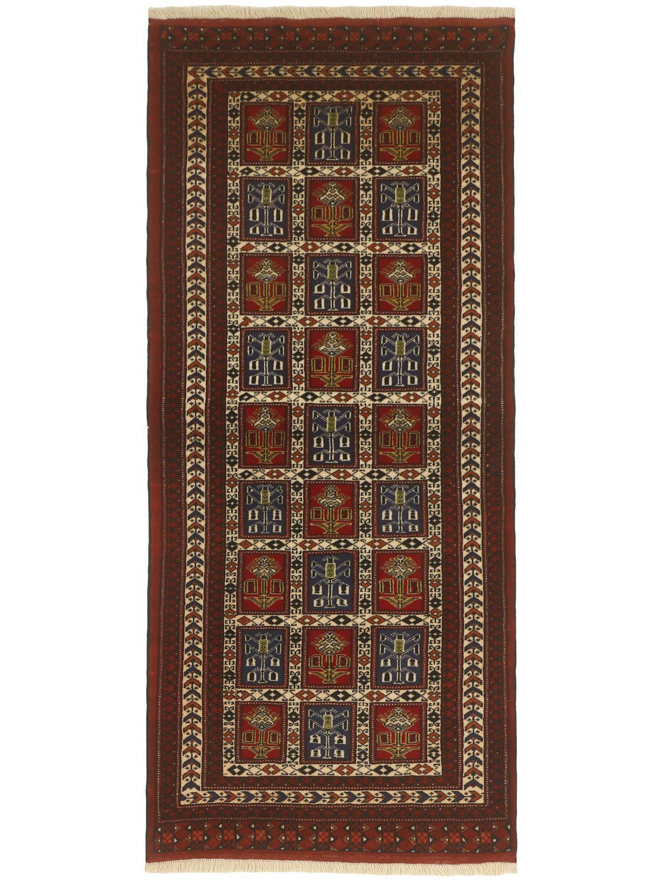 Tapis persans - Turkmène Fin