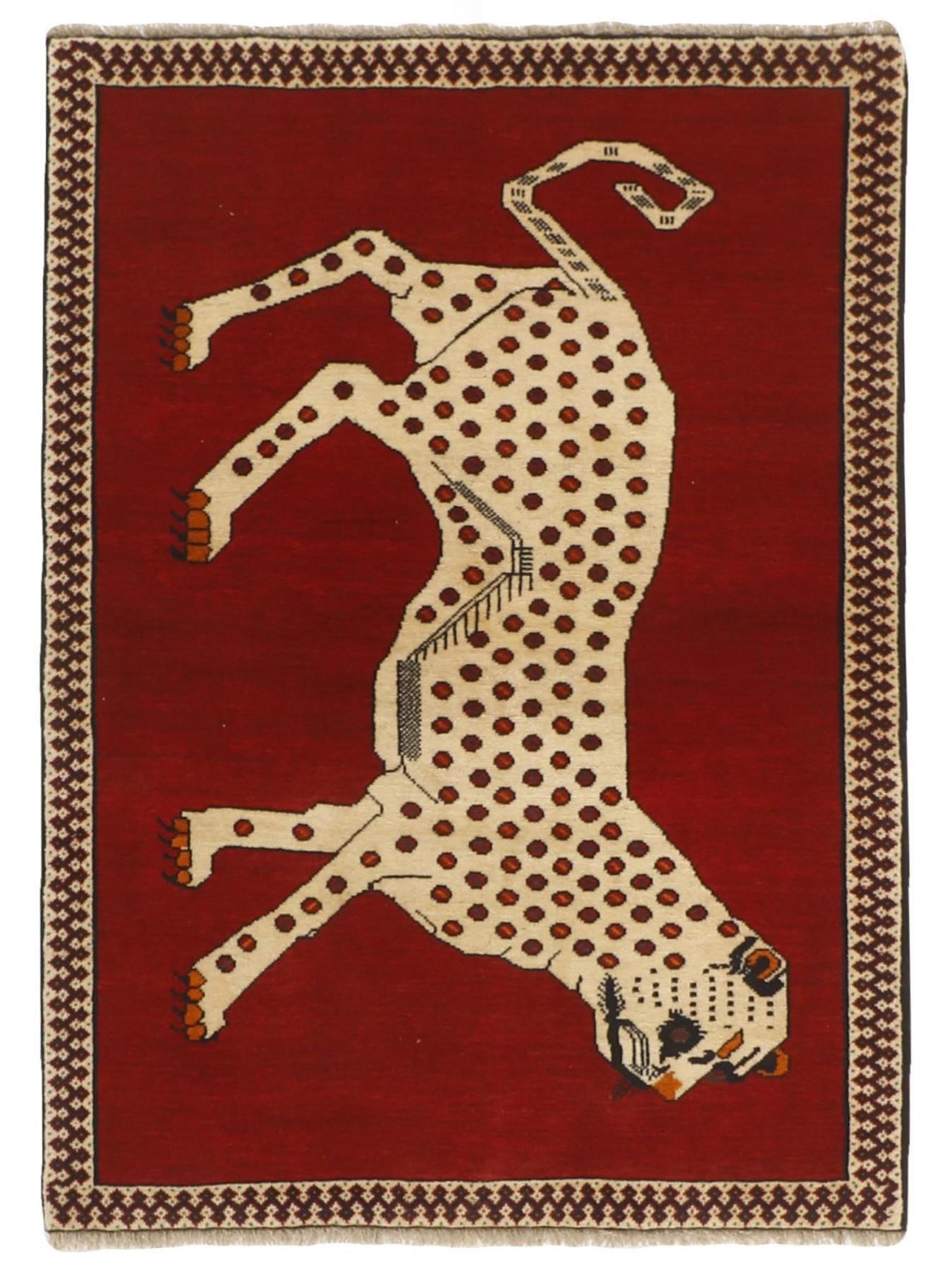 Tapis persans - Gashgai Figuratif
