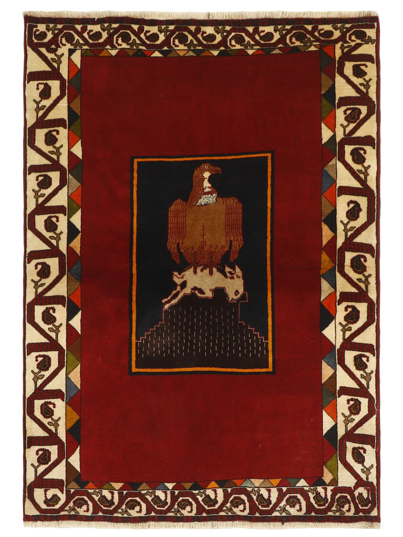 Perzische tapijten - Gashgai Figuratief