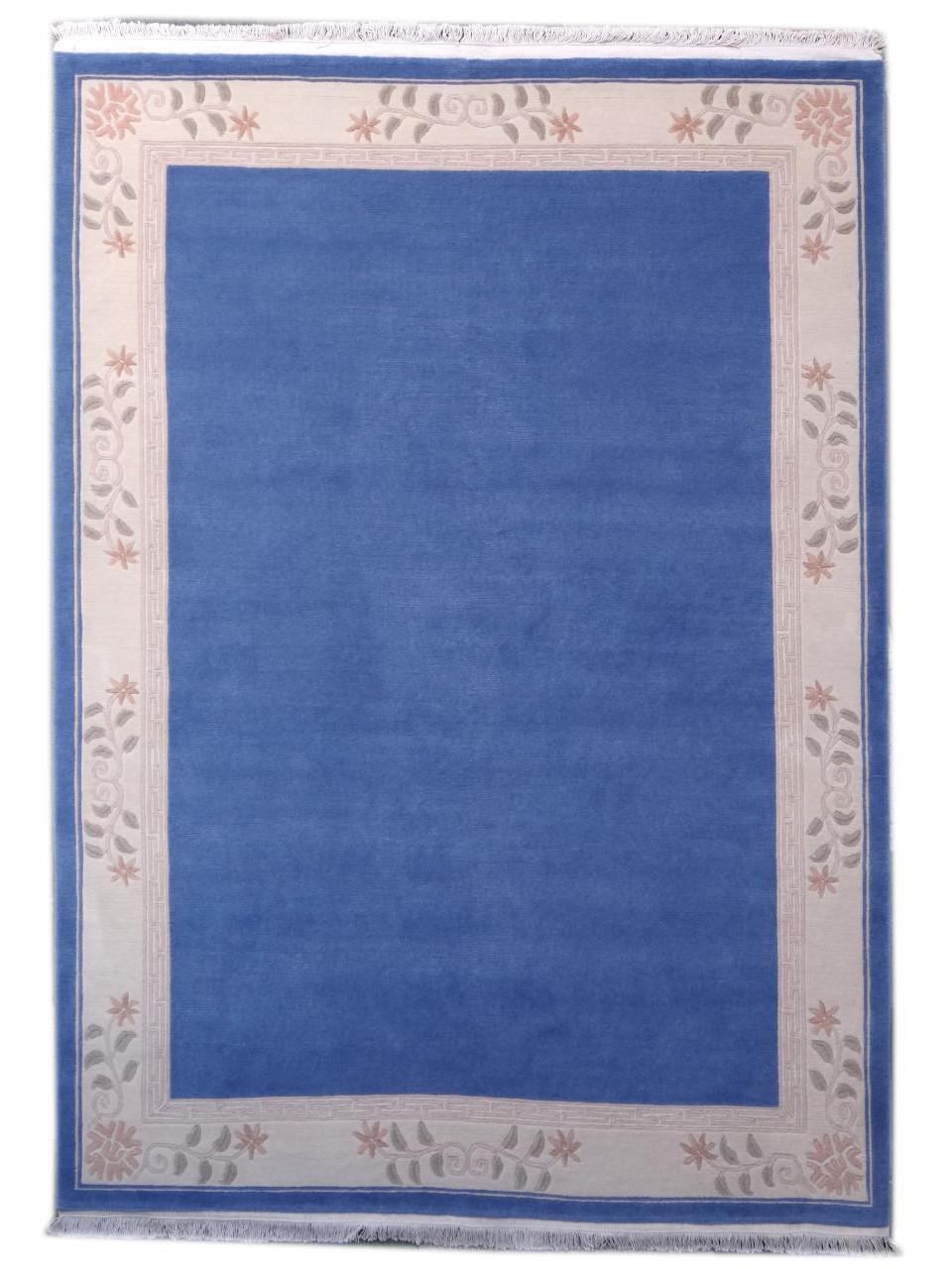 Tapijten met boorden - Classica blue