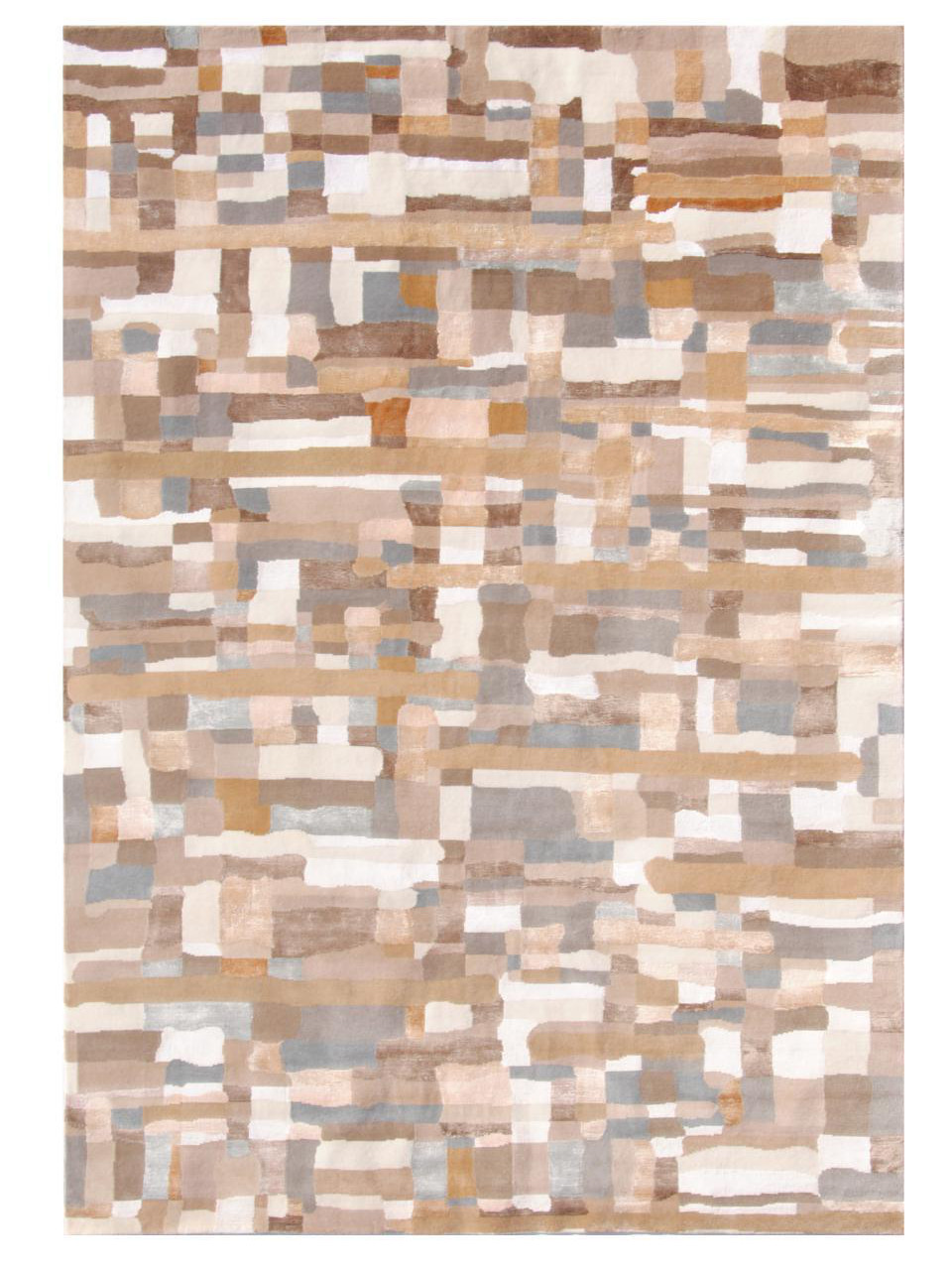Design tapijten - Pacific-4811 crème