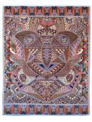 Luxury tapijten - 'The Owl' of BELGIAN CREATION