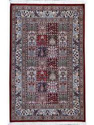 ghoum soie tapis prestigieux n 221 125x80cm. Black Bedroom Furniture Sets. Home Design Ideas