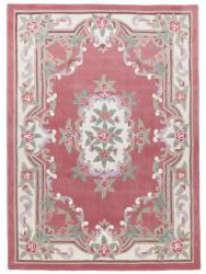 Chinese carpets - Aubusson pink
