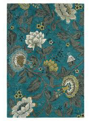 WEDGWOOD-passion-flower teal 37117