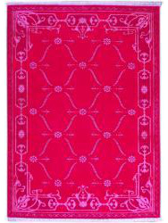 Tapis Luxury - CARTOUCHES - S2522 PINK