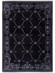Tapis Luxury - CARTOUCHES - S2522 GREY