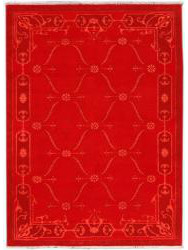 Tapis Luxury - CARTOUCHES - S2522 RED