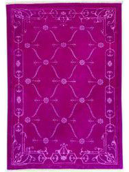 Tapis Luxury - CARTOUCHES - S2522 VIOLET