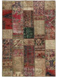 Vintage Perzisch Patchwork