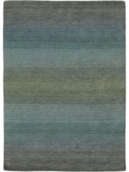 Tapis design - Panorama-6029- Grey Blue