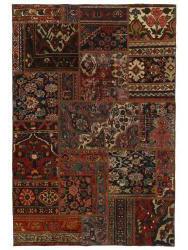 Vintage Persian Royal Patchwork Malayer