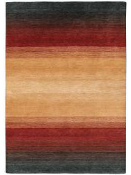 Tapis design - Panorama-6029- Black Terra