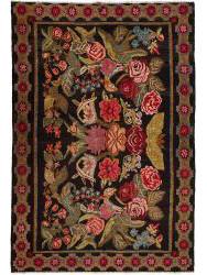 Kilim Floral Roses Old