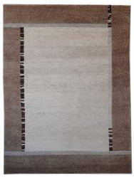 Carpets with borders - Heaven L-519 beige-sable