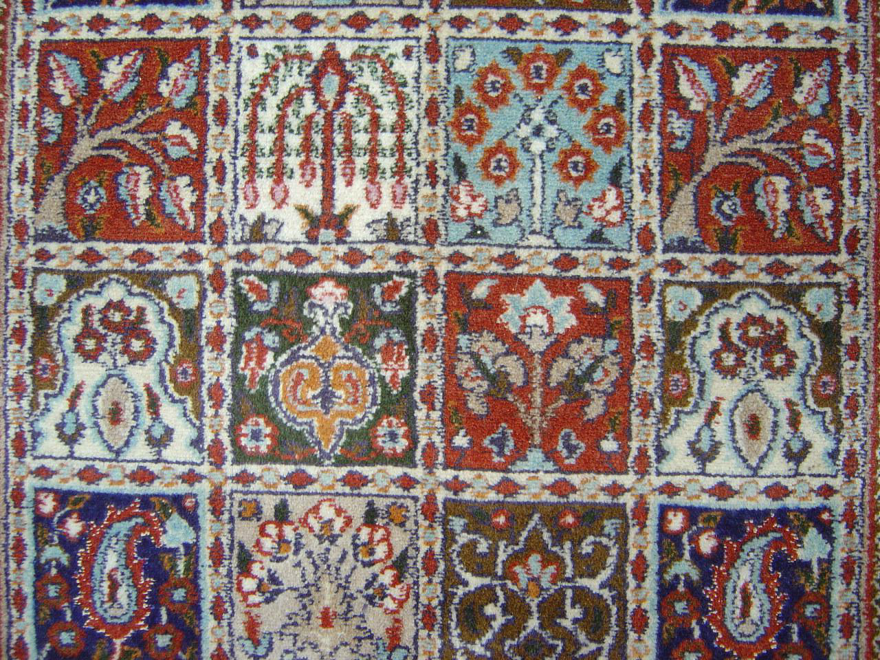 Moud Jardin Tapis Persans N 10783 150x102cm