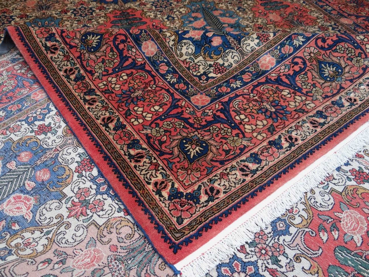 bakhtiar tapis persans n 1427 365x253cm. Black Bedroom Furniture Sets. Home Design Ideas