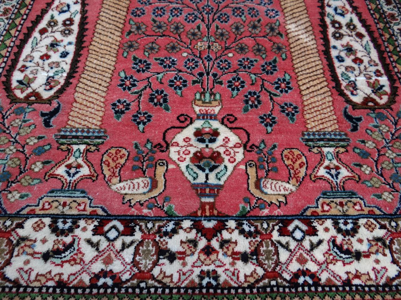 ghoum soie tapis prestigieux n 41 76x52cm. Black Bedroom Furniture Sets. Home Design Ideas