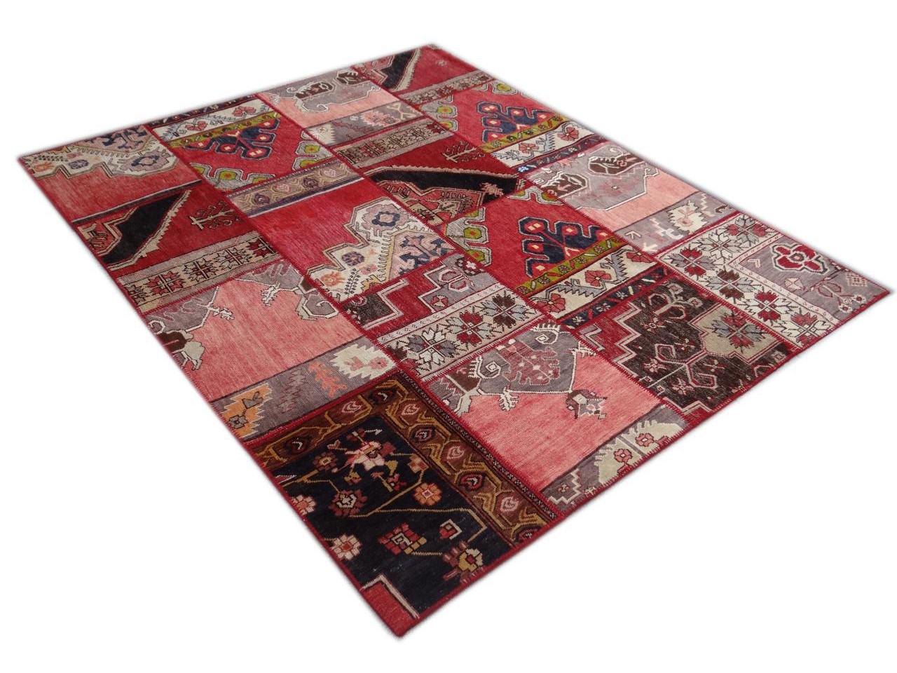 patchwork tapis ethniques n 12893 250x202cm. Black Bedroom Furniture Sets. Home Design Ideas