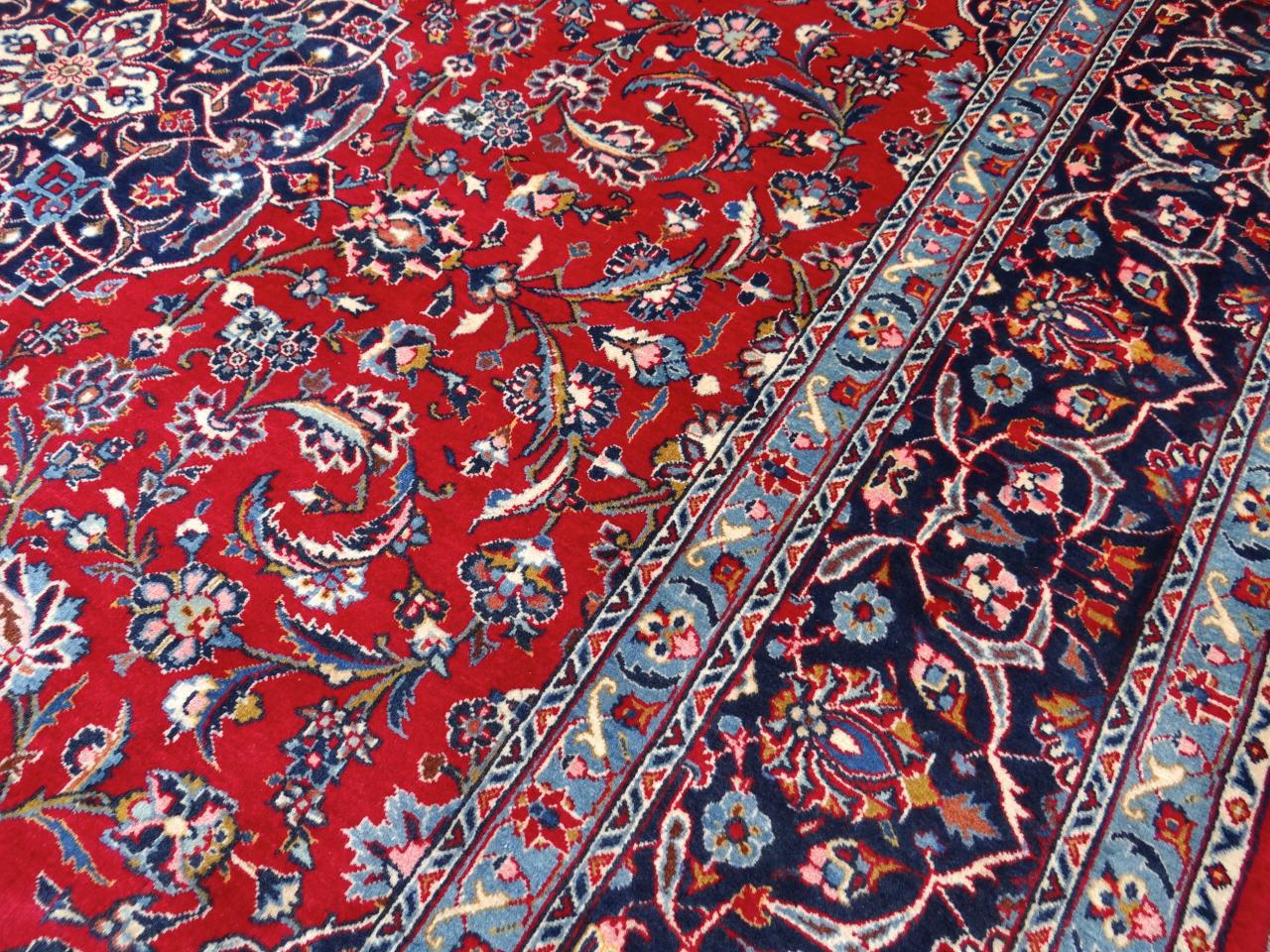 Kashan Persian Carpets N 1659 340x249cm