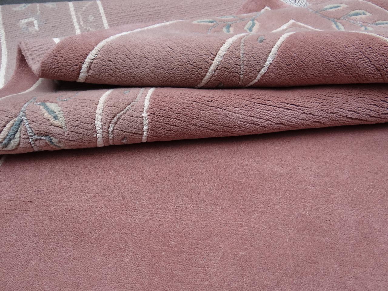 agra classica vieux rose tapis contemporains n 1834 305x203cm. Black Bedroom Furniture Sets. Home Design Ideas
